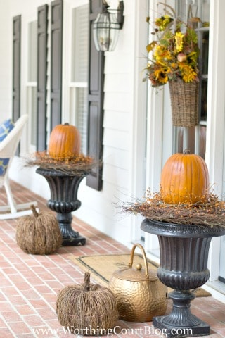 Easy And Simple Fall Front Porch