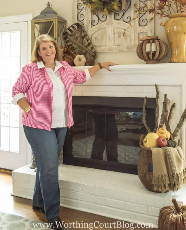 Plus Size Fashion After 50: Casual Early Fall Style