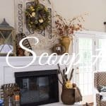 The Scoop Link Party #191 – Fall Decor, Crafts, Recipes And More!
