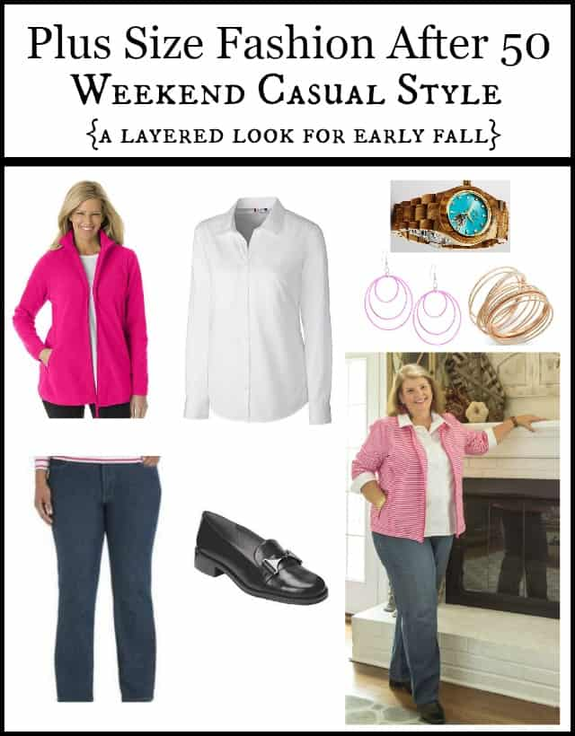 Plus Size Fashion After 50: Casual Weekend Style