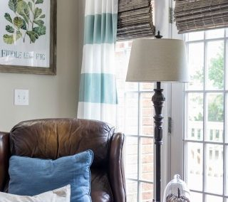 Budget Friendly Window Treatments For The Family Room