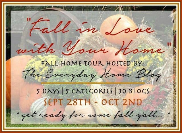 Fall In Love With Your Home Blog Tours