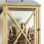 How To Make A Rustic Luxe Christmas Lantern In 10 Minutes