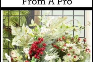 How To Make A Christmas Wreath – Directions From A Pro – Part I
