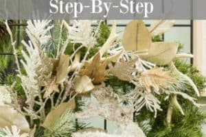 How To Make A Christmas Wreath – Directions From A Pro – Part II