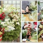 Step-By-Step Tutorial For How To Decorate A Christmas Wreath – Directions From A Pro – Part II