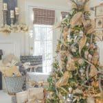 My Christmas Tree And Mantel {At Long Last}