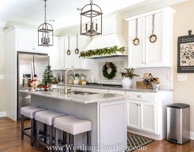 Farmhouse Christmas Kitchen U2026