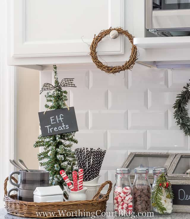 Diy Kitchen Decor Pinterest: Christmas In My Farmhouse Kitchen