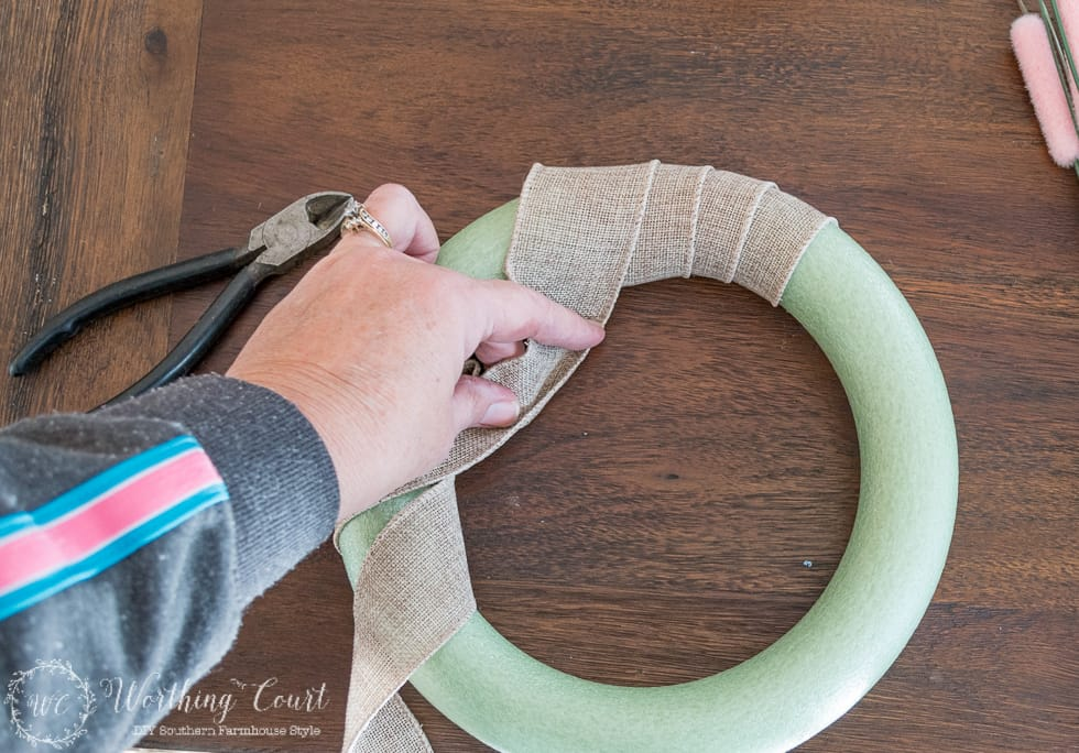 How To Make A Valentine S Day Wreath For Under 10 Worthing Court