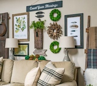 Welcome Winter & Adding Cozy To My Family Room