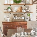 Simple DIY Projects From My Breakfast Area Makeover