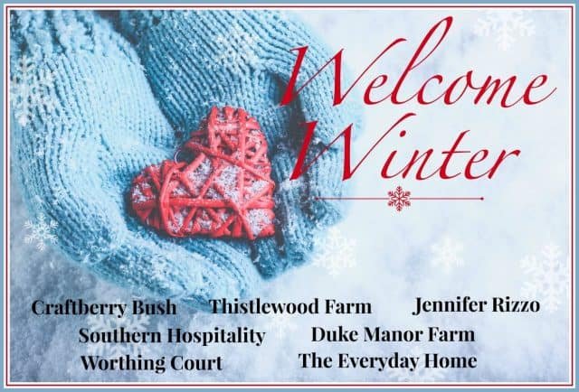 Welcome Winter Bloghop