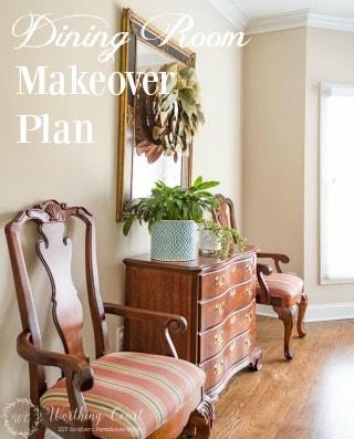 Dining Room Makeover Plan