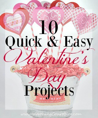 10 Quick And Easy Valentine's Day Projects & Crafts