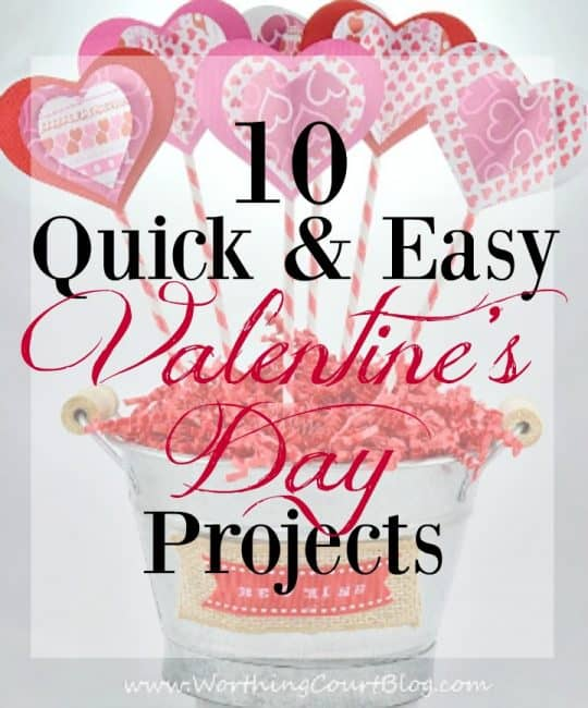 10 Quick And Easy Valentine's Day Crafts, Projects And Recipes