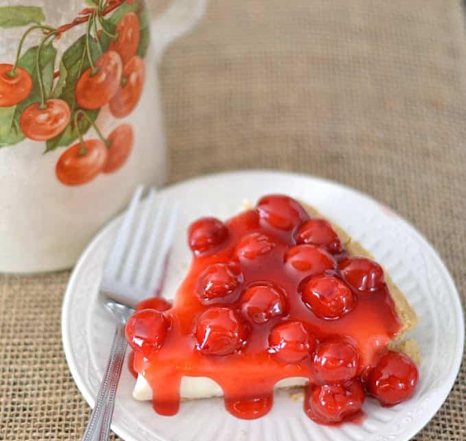No-Bake Cherry O'Cream Pie Recipe.