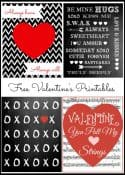 Four Free Valentine's Day Printables