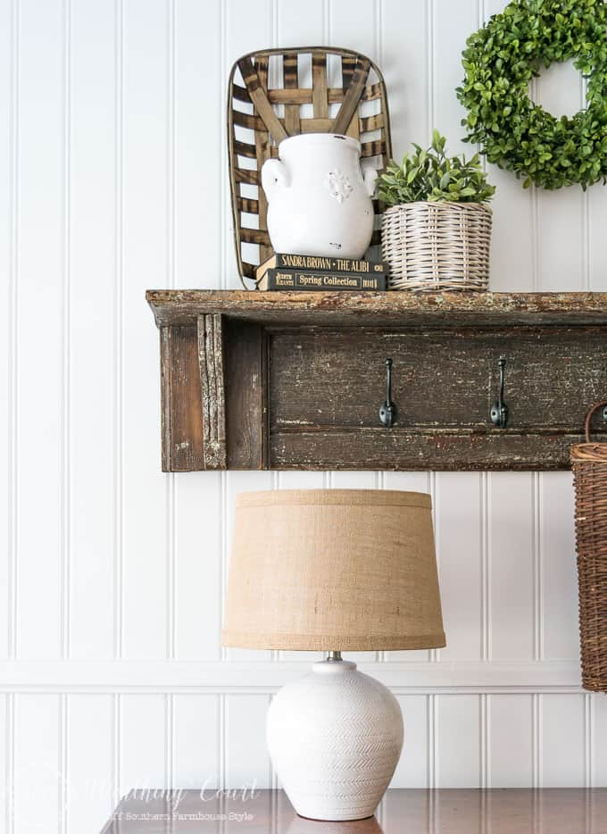 This is the easiest and fastest diy planked wall ever!