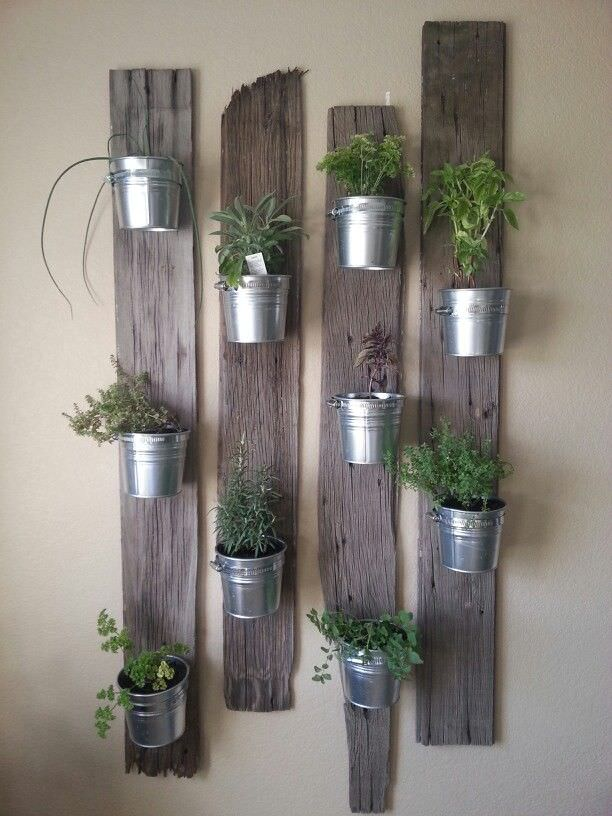 Favorite DIY Indoor Herb Gardens