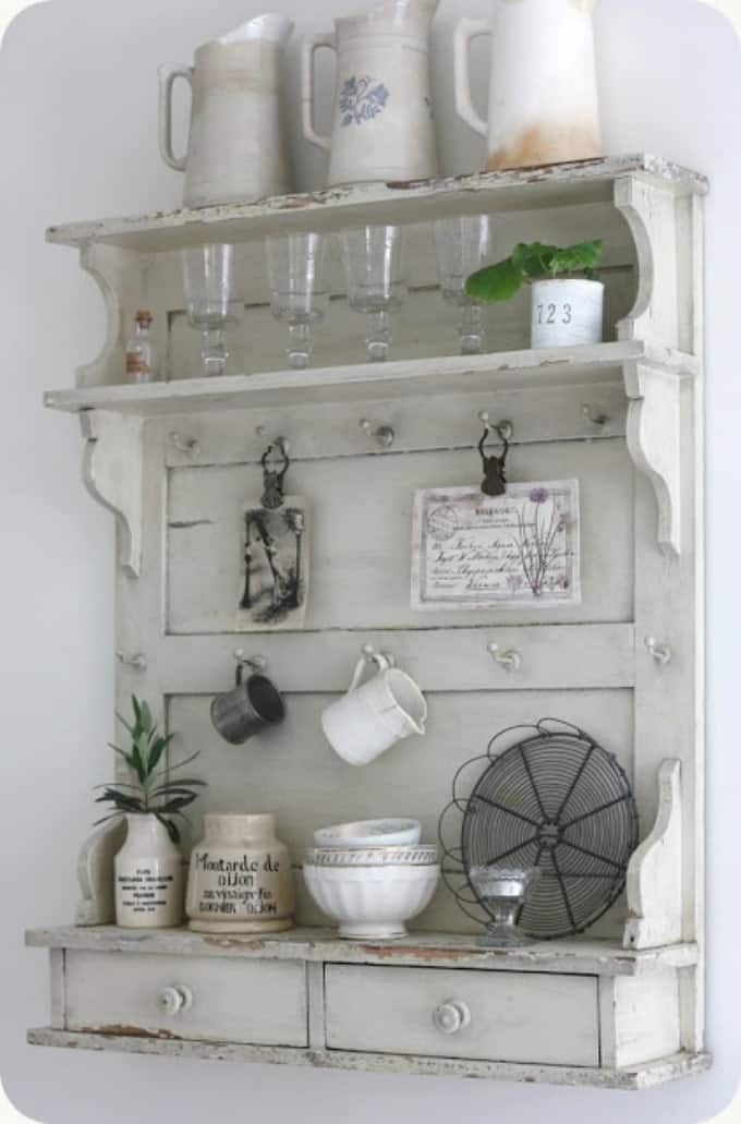 5 Favorite DIY Farmhouse Plate Racks