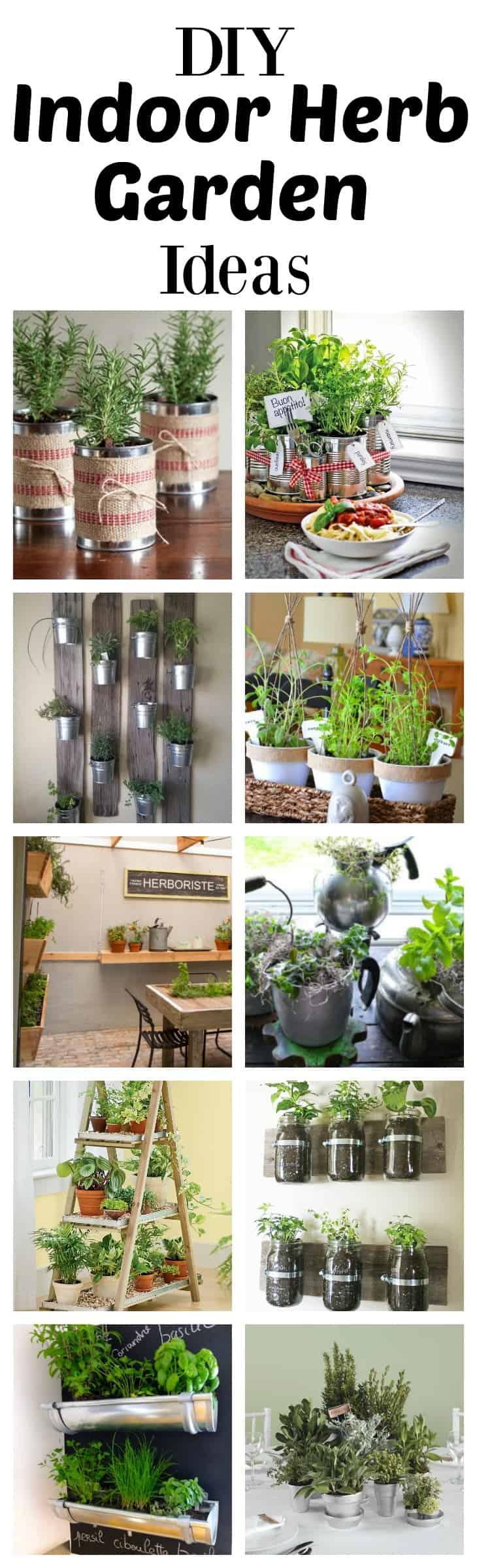Indoor Herb Garden Ideas Part - 48: What Could Be More Convenient Than Being Able To Clip Herbs To Cook With  Right In