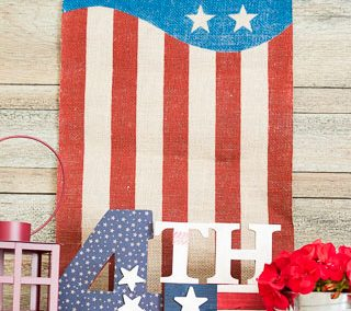 Patriotic Craft For Memorial Day, Flag Day And July 4th