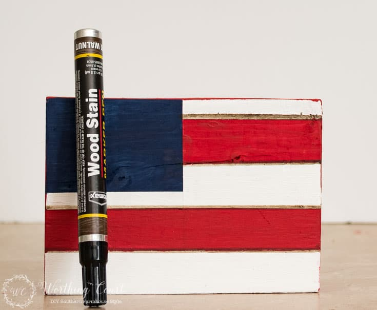 How to make a Patriotic Craft For Memorial Day, Flag Day And July 4th    Worthing Court
