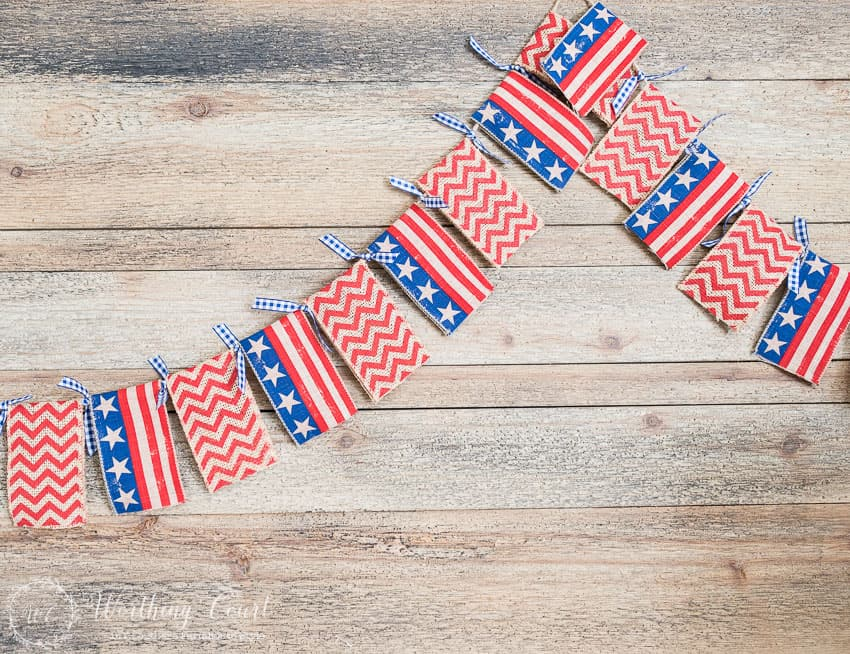 How to make a super quick and easy diy banner garland. Simply change out the ribbons for any occasion or season.