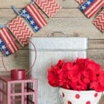 Easy Peasy DIY Banner Garland – No Sewing And No Template Required!