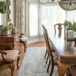 More Dining Room Makeover Progress – A New Rug