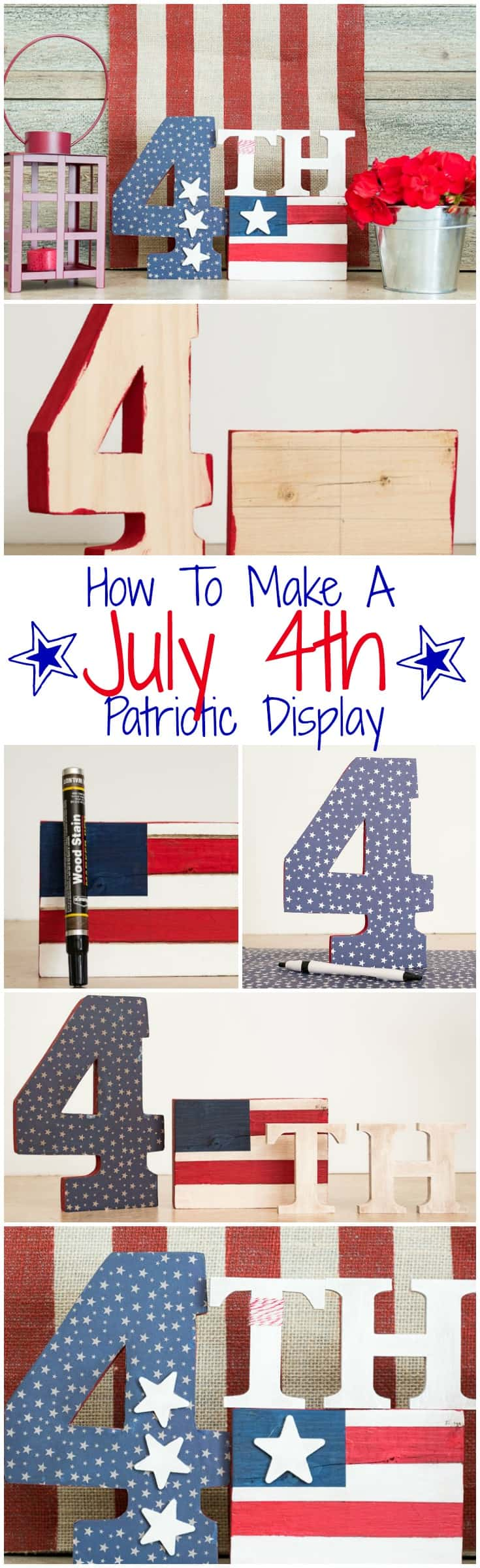 How to make a Patriotic Craft For Memorial Day, Flag Day And July 4th || Worthing Court