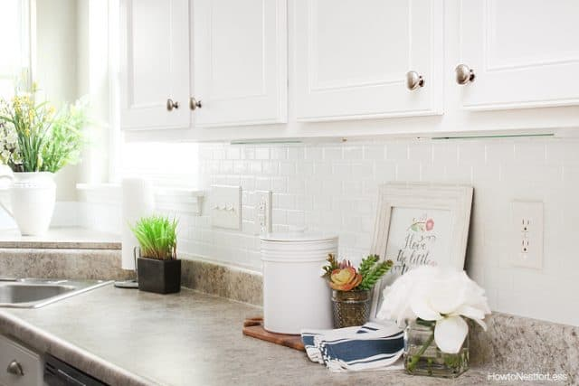 Self-Adhesive Kitchen Backsplash