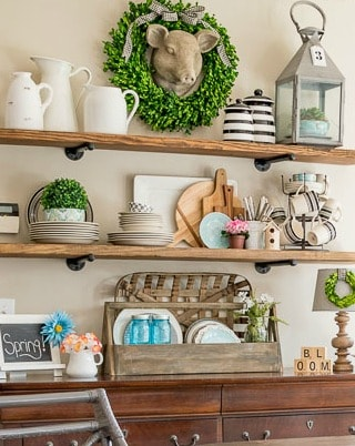 6 Reasons You Need Greenery Or Flowers {Real Or Faux} In Your Home Right Now