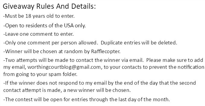 Rules And Details For The Monthly $100 Visa Giftcard Giveaway Brought To You By Worthing Court Blog