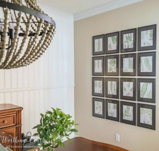 How To Fill A Large Wall With Art For Under $75