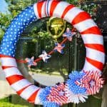 How To Make A Patriotic Wreath