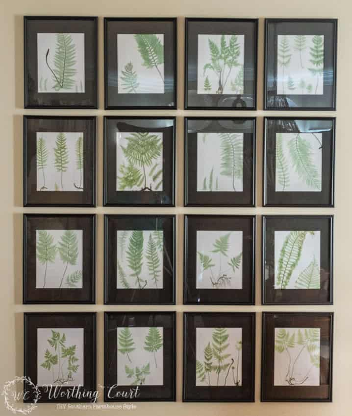 Resources for filling a large wall with art for under $75
