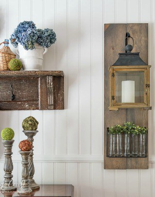 Channel your inner Joanna Gaines with a diy Fixer Upper farmhouse style hanging lantern