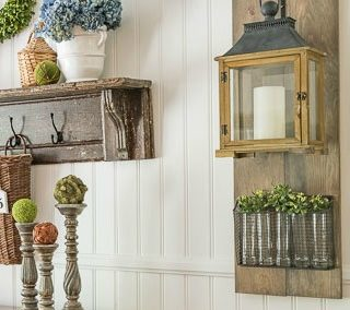 How To Build A Farmhouse Hanging Lantern Display