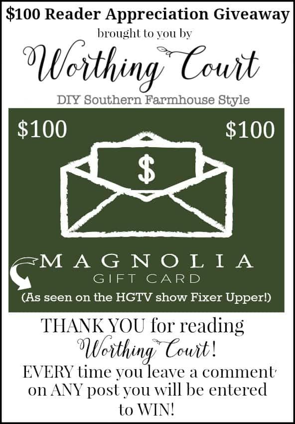 Reader appreciation giveaway!