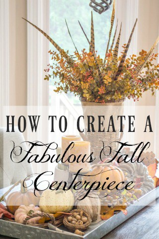 How To Make A Fabulous Fall Centerpiece Worthing Court