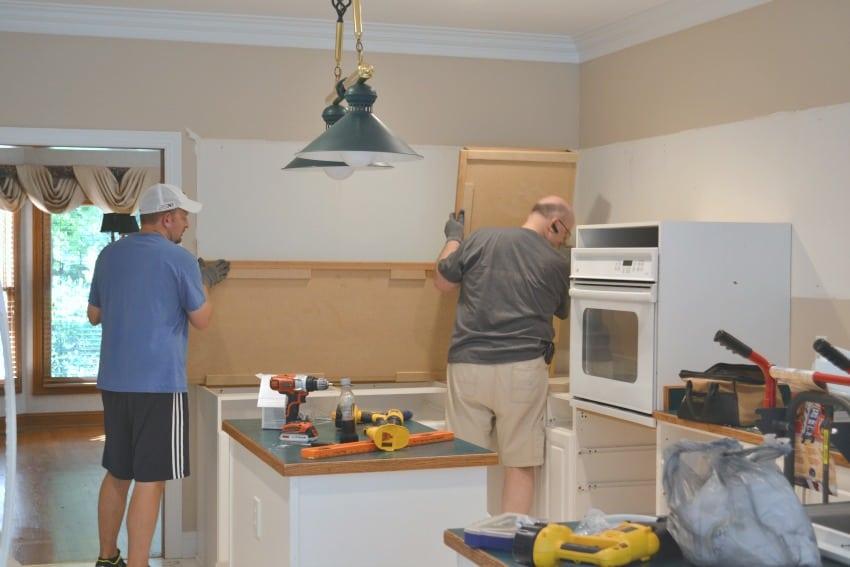 Kitchen cabinet demo