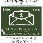 August Recap + $100 Magnolia Market Gift Card Giveaway!