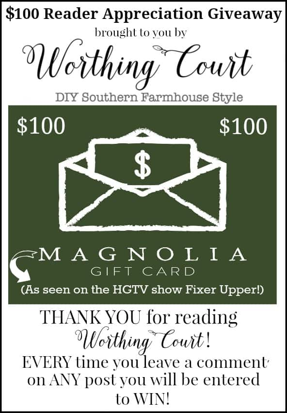 Magnolia Market Gift Card Giveaway - simple comment to enter