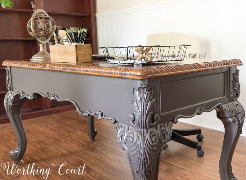 Office desk makeover || Worthing Court