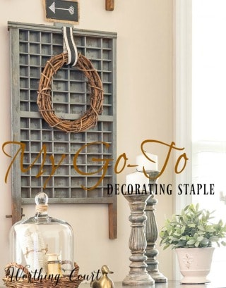One Of My Favorite Go-To Decorating Staples
