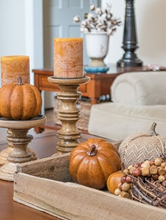 One Fall Coffee Table – Two Ways