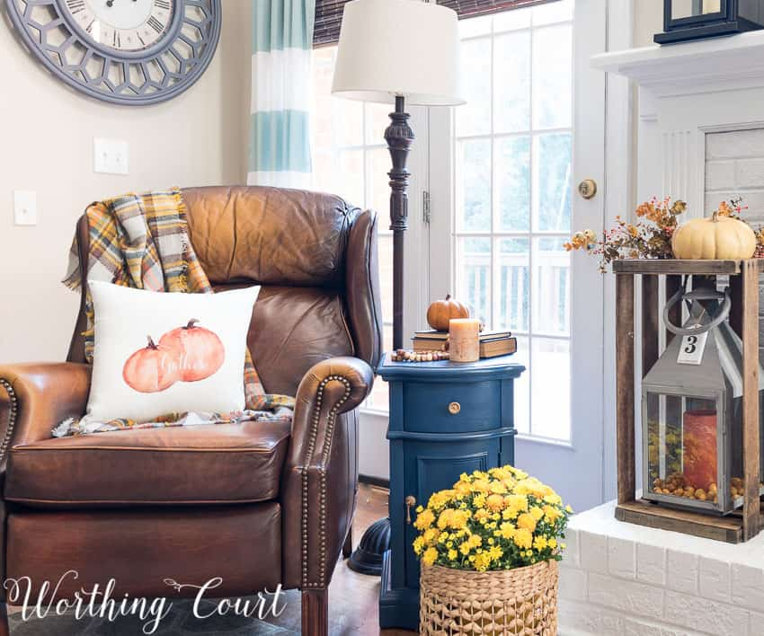 Fireside fall vignette || Worthing Court