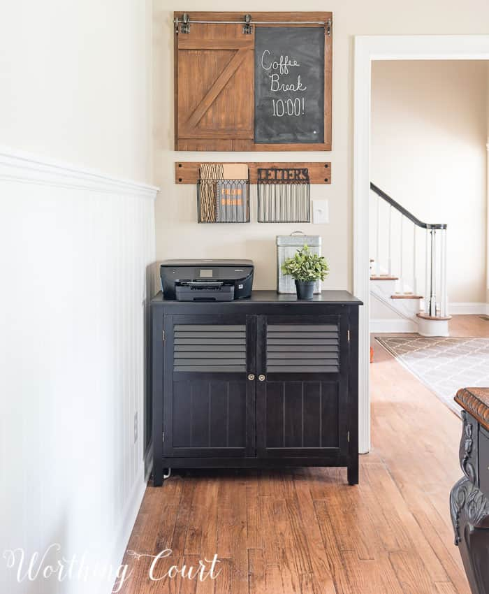 A small chest is the perfect solution for office storage || Worthing Court